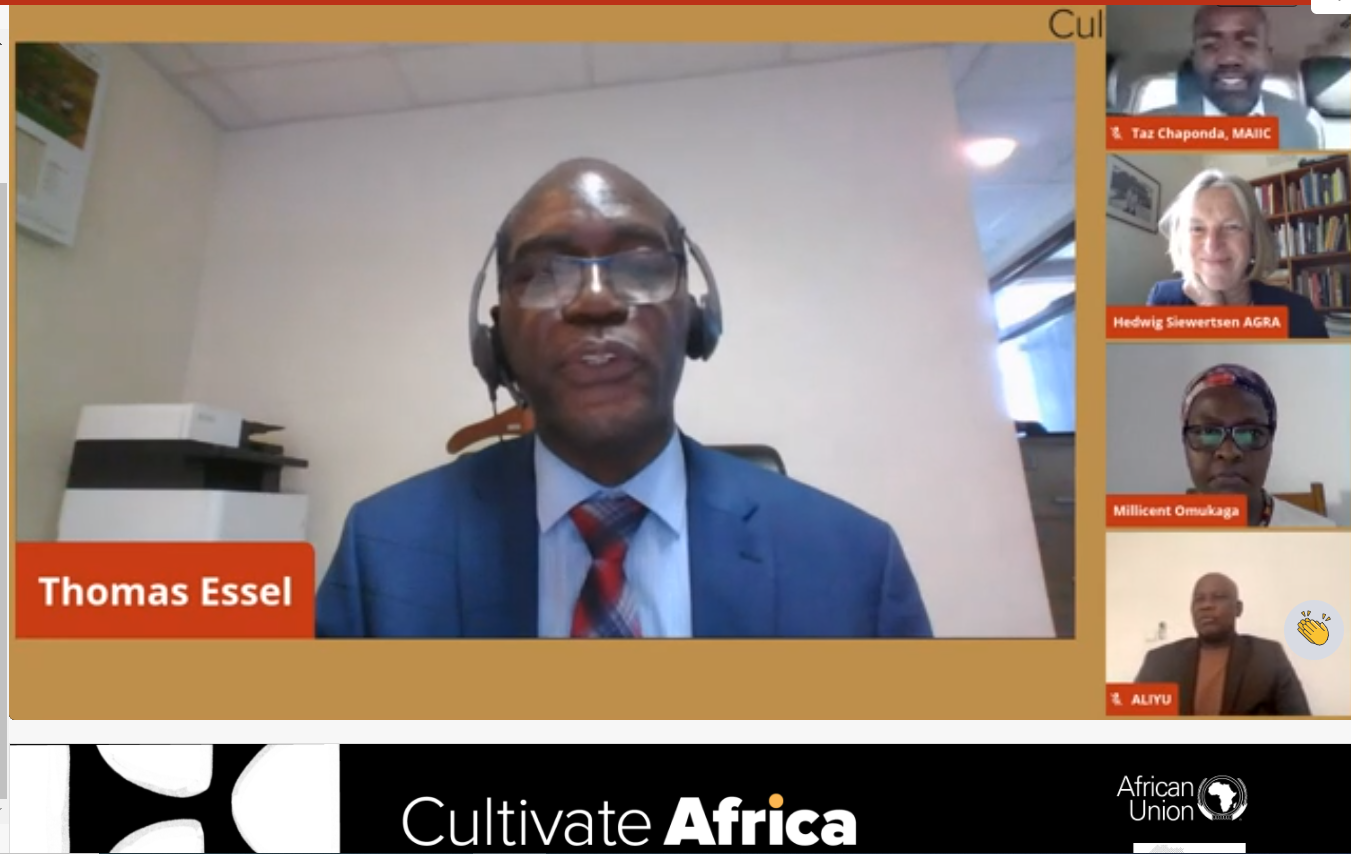 AFRACA convenes agribusiness and finance session at the AU cultivate Africa dialogue