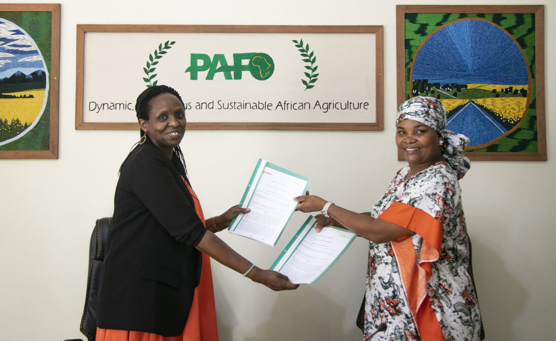 AGRA and PAFO Partner to Support Smallholder Farmers in Africa